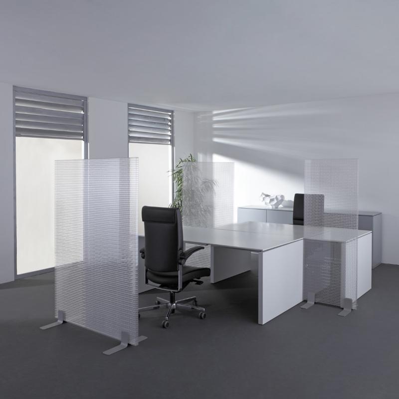 Mamparas separadoras espacios